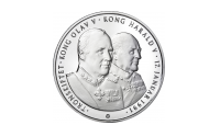 Tronskiftemedaljen Kong Olav og Kong Harald
