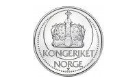 Tronskiftemedaljen Kongeriket Norge reversmotiv