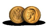 5 Rubel fra Tsar Nikolaj II