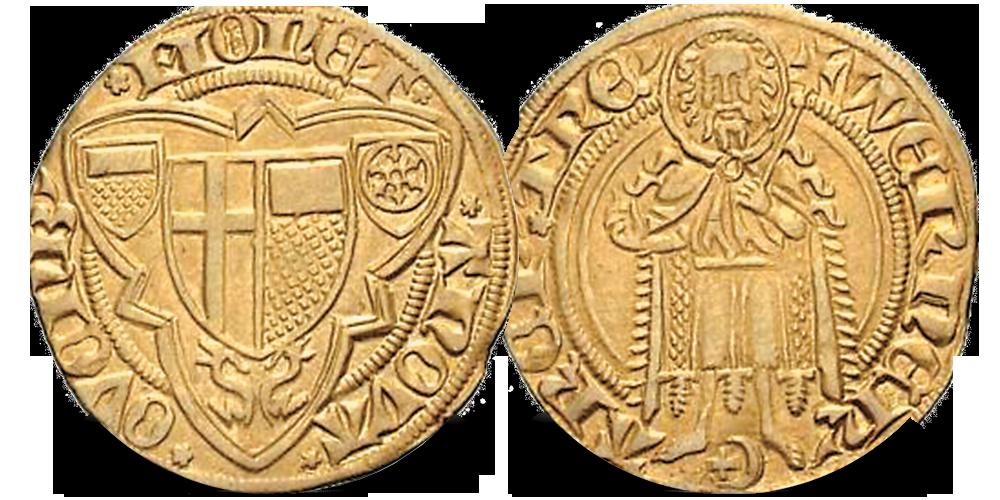 Tysk gylden gullmynt