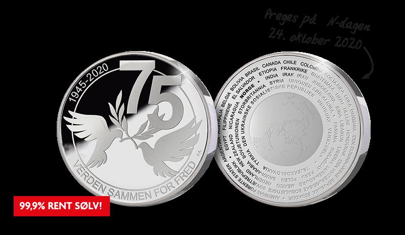 Jubileumssett feirer 75 år med Forente Nasjoner