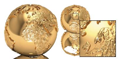 Verdens første globusmynt!