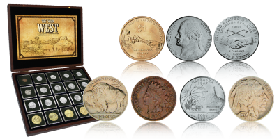Ville Vesten, Amerikansk 20-myntsett