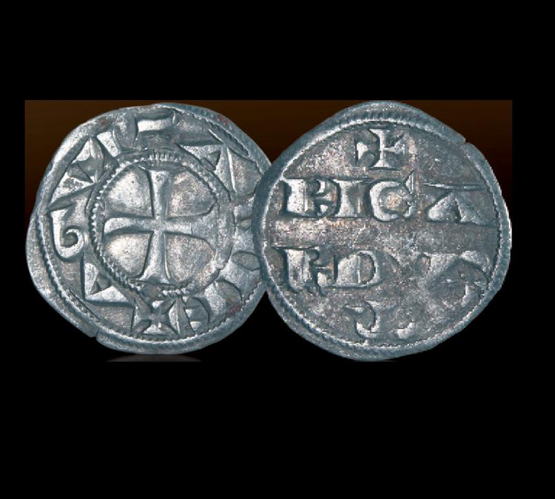 myntene til den enigmatiske Richard Løvehjerte
