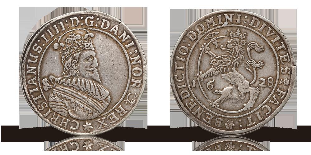 Norske speciedalere ble preget i Christiania med sølv fra Kongsberg.