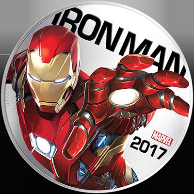 Iron Man som lyser i mørket