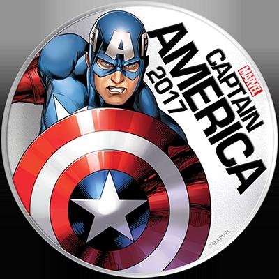 Cap - Captain America eller Steve Rogers, lyser også i mørket