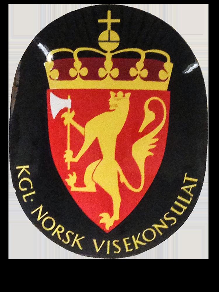 Varianten på 1800-tallet hadde kort øks og rettere rygg enn under dansketiden