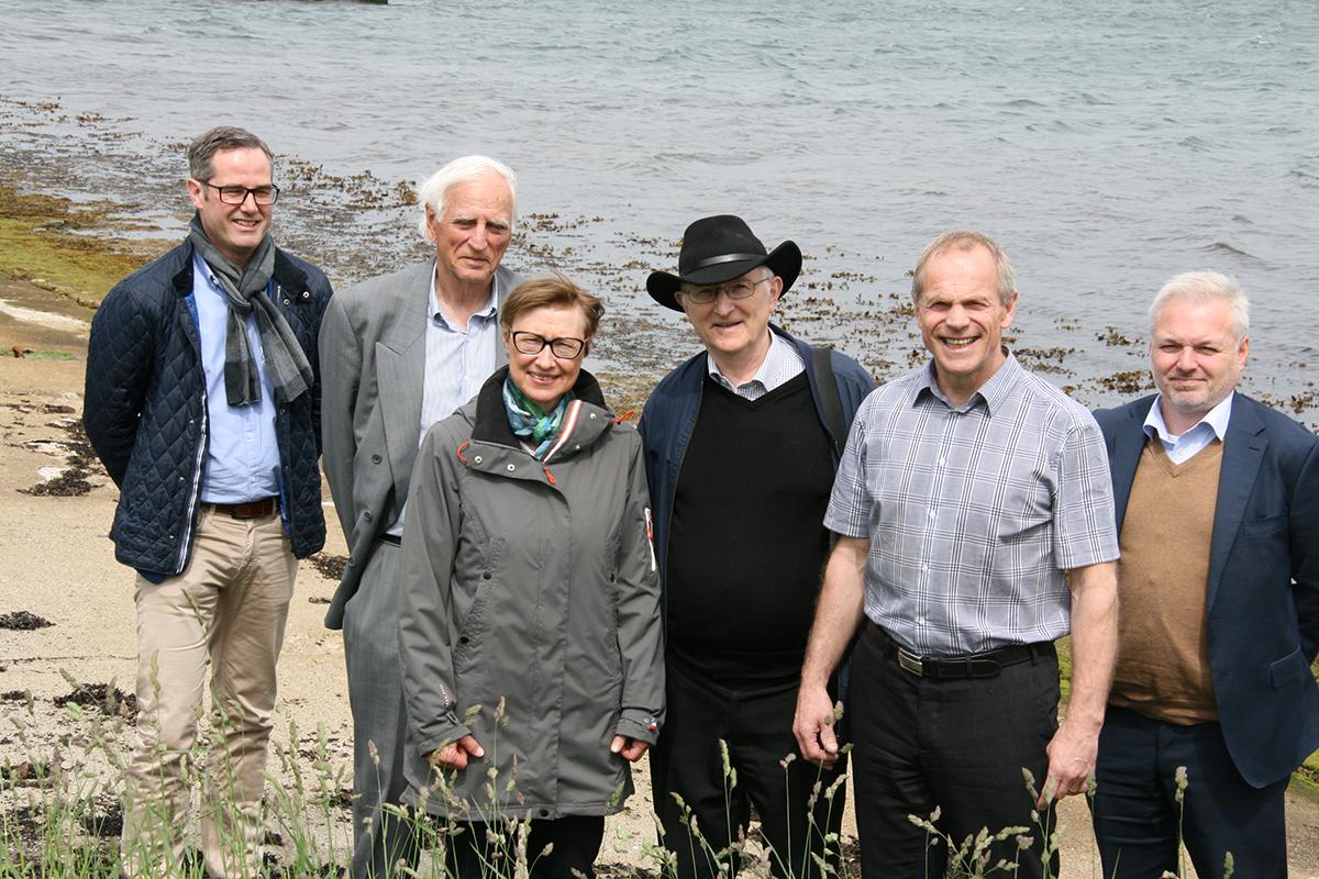 Funn i Hafrsfjord sammen med Ole Bjørn Fausa fra Samlerhuset