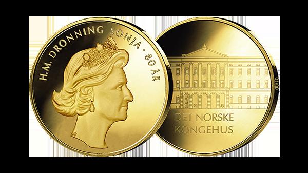 Dronning Sonjas 80-årsmedalje utsolgt