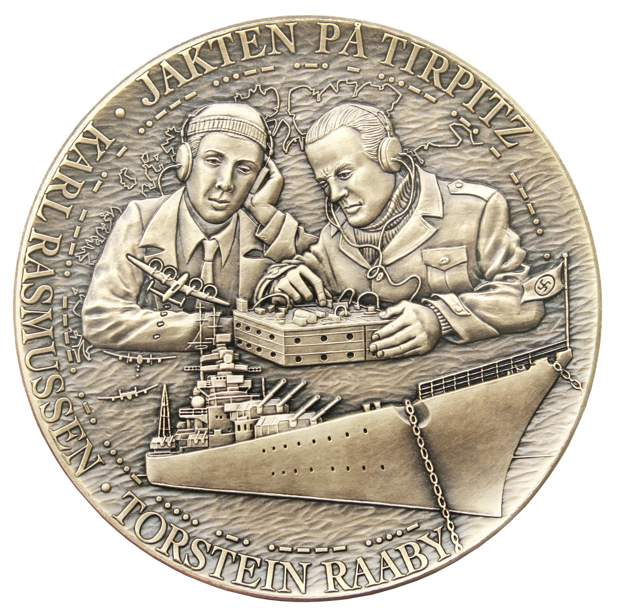 De norske notstandsmennene Rasmussen og Raaby spilte en viktig rolle i senkingen av slagskipet Tirpitz