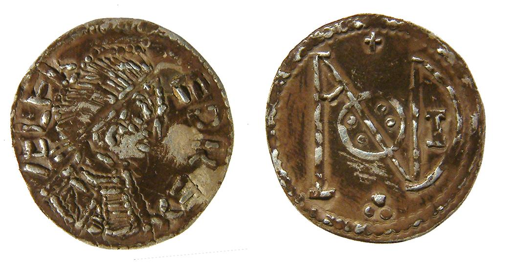Vikingene kopierte myntene til Alfred den store