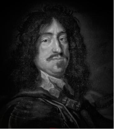 Frederik III var kjent for å være en god konge med et kraftig hakeparti.