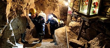 Disse gullgruvene har høye krav til ansattes sikkerhet.