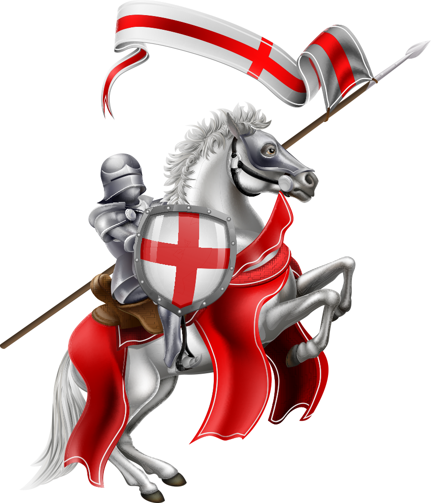 Korsfarer-ridder, stilisert