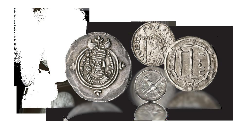 Utenlandske mynter brukt av vikingene