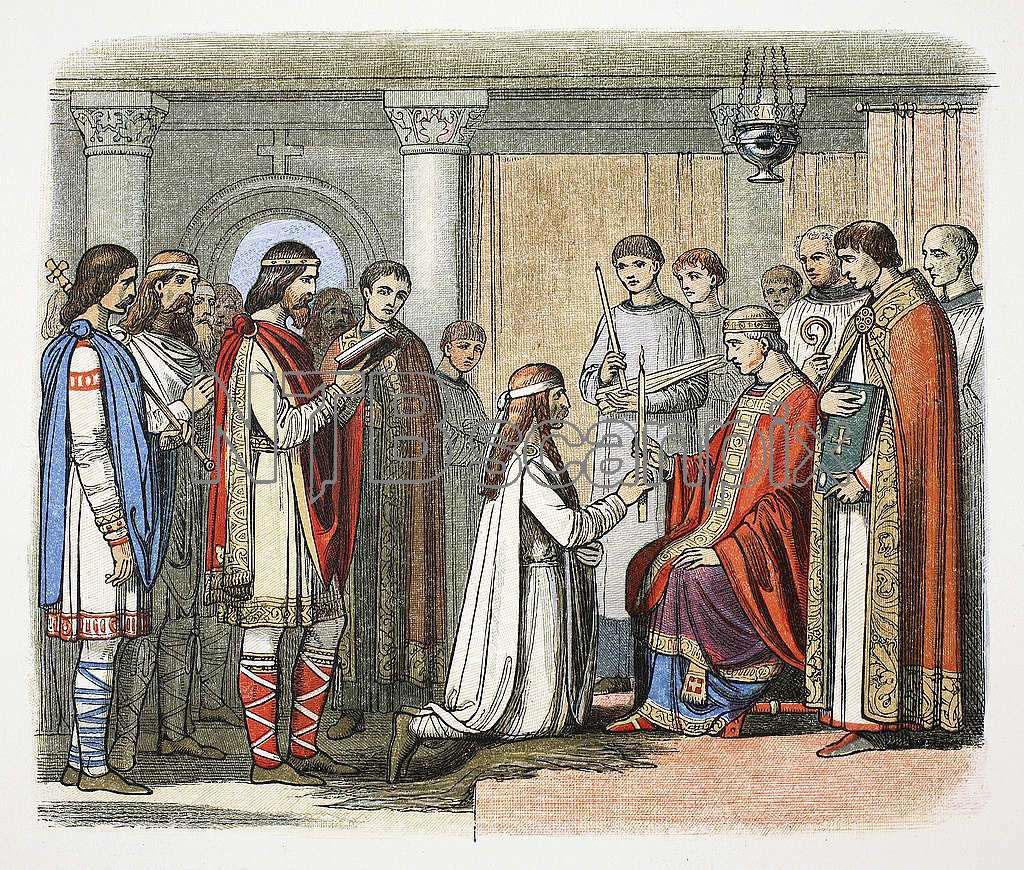 Vikingene bosatte seg og tok over maktposisjoner i England da Harald Hårfagre styrte Norge